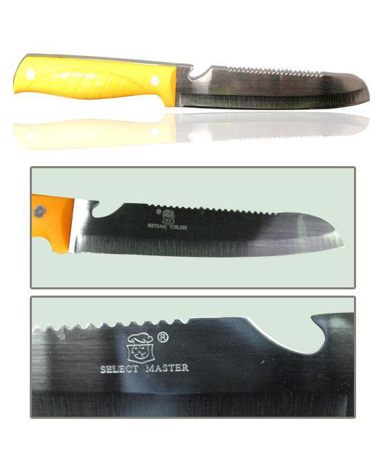 تخفیف و فروش آنلاین چاقو آشپزخانه با درب بازکن و قسمت نان بری select master در هایپرشاین